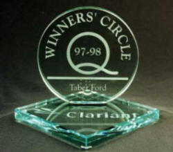 Etched Glass Awards